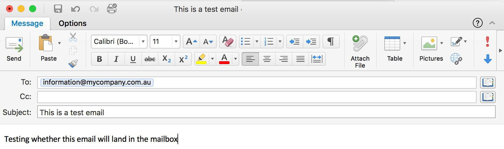 Setting Up an Email Server for the Direct Email Spooling Attack