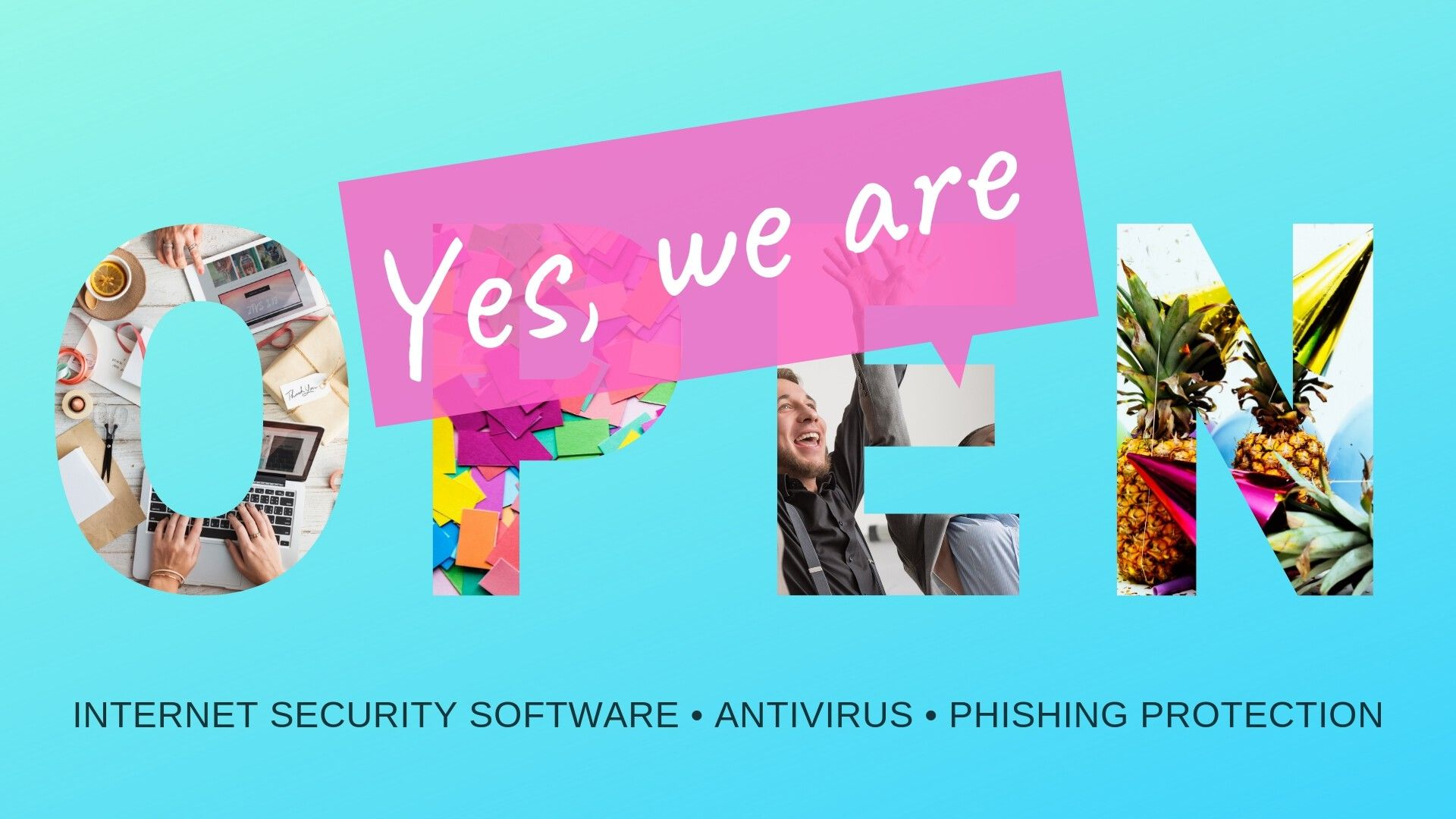 Our Internet Security Online Store is Now Open. Antivirus, Phishing Protection and More!